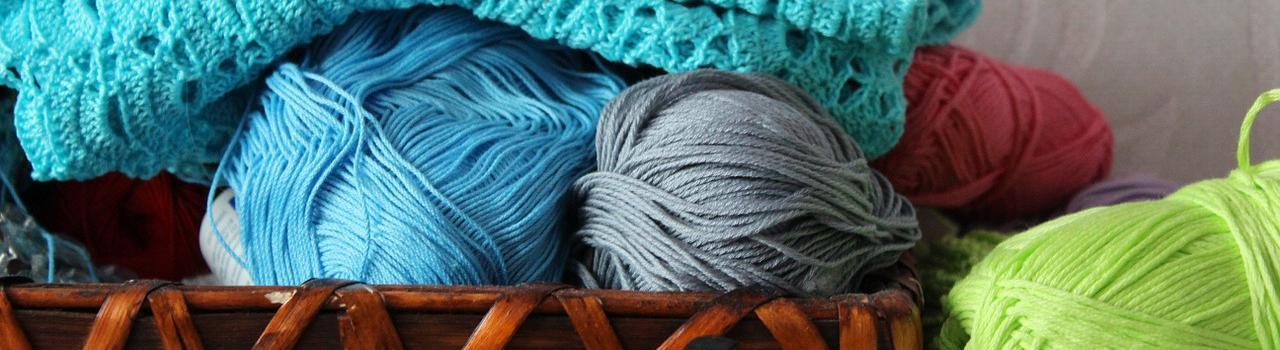 Jak ukládáte rozpracované pletení
