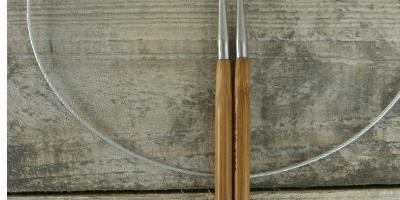 Jehlice kruhové bambus č. 3,5 délka 80