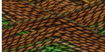 Samovzorovací ponožková příze 4-vrstvá Toskánsko
