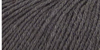 Jednobarevná ponožková příze 4-vrstvá s bavlnou Tmavě šedá
