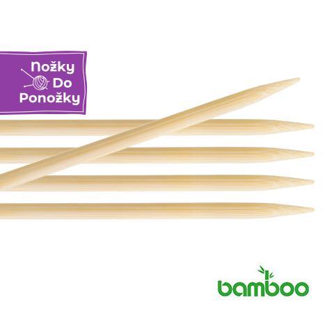Jehlice ponožkové KnitPro Bamboo č. 3 délka 20