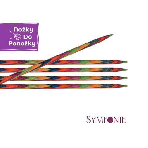 Jehlice ponožkové KnitPro Symfonie č. 3,5 délka 20