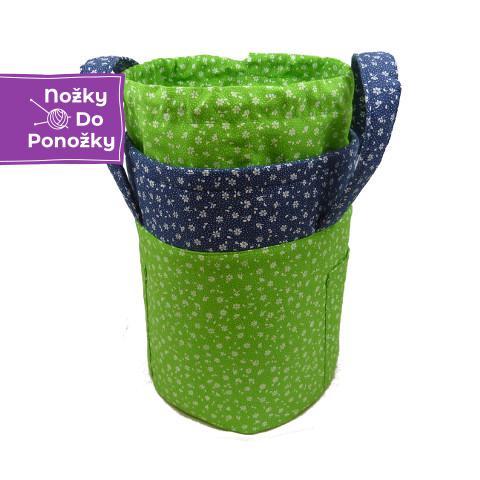 Košík Zeleno-modrý