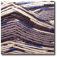 Samovzorovací ponožková příze 4-vrstvá Magická šedá