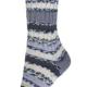 VZOREK Samovzorovací ponožková příze 4-vrstvá Magická šedá