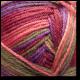 Samovzorovací ponožková příze 4-vrstvá Podzimní květy