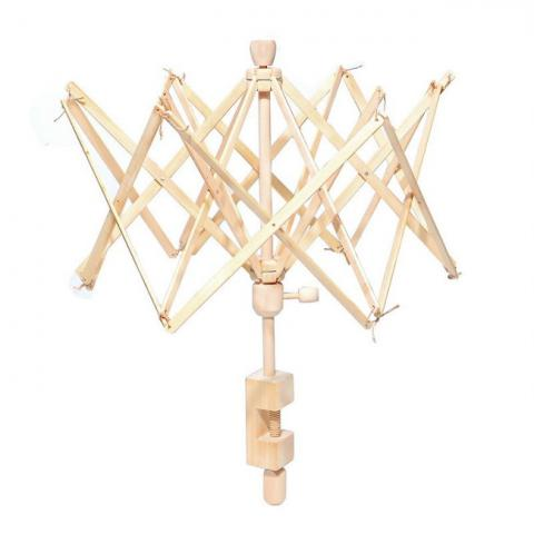 Deštník k navíječi příze dřevěný