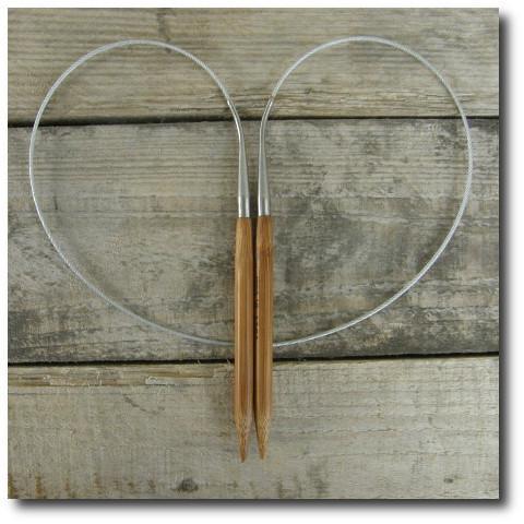 Jehlice kruhové bambus č. 3,0 délka 80