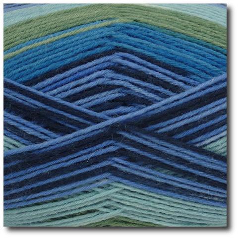 Samovzorovací ponožková příze 6-vrstvá Gründl Hot Socks Arco, 6-fach 01
