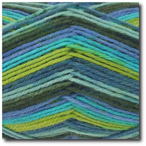 Samovzorovací ponožková příze 4-vrstvá Gründl Hot Socks Color 404