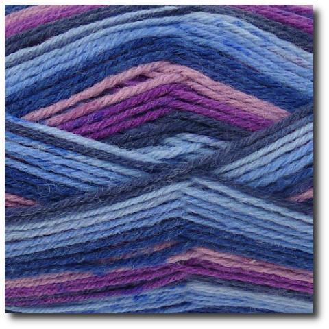 Samovzorovací ponožková příze 4-vrstvá Gründl Hot Socks Color 406