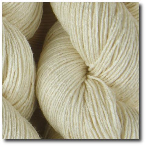 Příze na barvení Merino bavlna hedvábí 400m