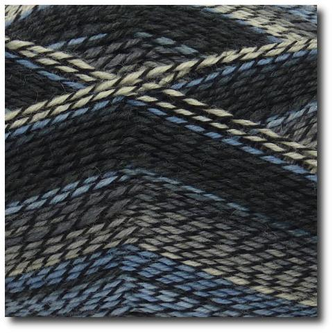 Samovzorovací ponožková příze 4-vrstvá Etna