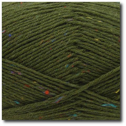 Tvídová ponožková příze 6-vrstvá Tvíd lovecký