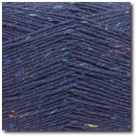 Tvídová ponožková příze 6-vrstvá Tvíd marine