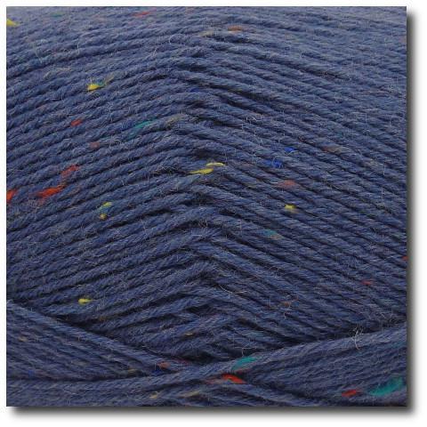Tvídová ponožková příze 6-vrstvá Tvíd modrošedý