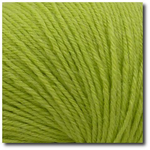 Ponožková příze 4-vrstvá s bambusem Zelené jablko