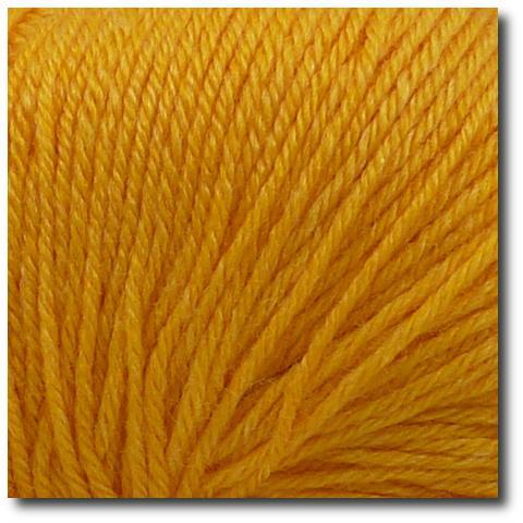 Ponožková příze 4-vrstvá s bambusem Žluté slunce