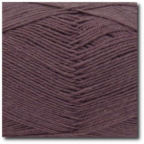 Jednobarevná ponožková příze 4-vrstvá Mauve