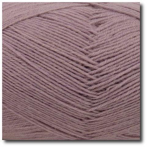 Ponožková příze 4-vrstvá jednobarevná Starorůžová