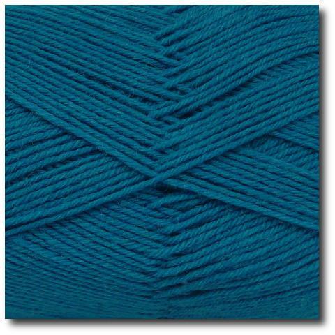 Jednobarevná ponožková příze 4-vrstvá Tmavě zelená
