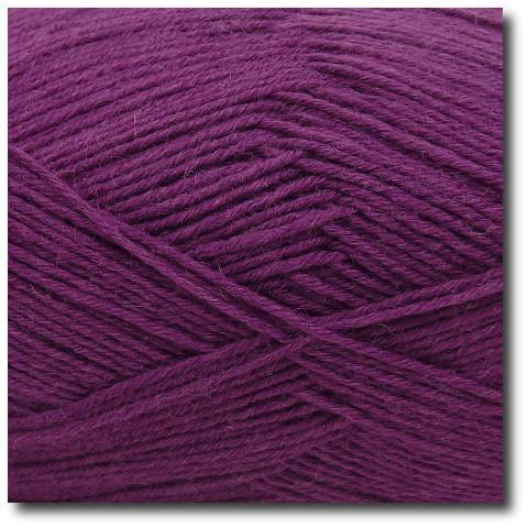 Jednobarevná ponožková příze 6-vrstvá Ostružina