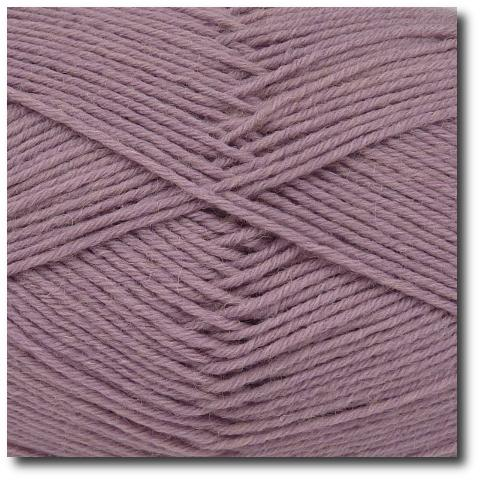 Jednobarevná ponožková příze 6-vrstvá Starorůžová