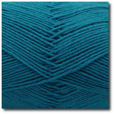 Jednobarevná ponožková příze 6-vrstvá Tmavě zelená