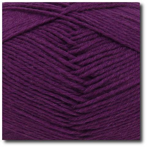 Jednobarevná ponožková příze 8-vrstvá Ostružina