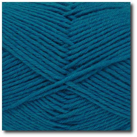 Jednobarevná ponožková příze 8-vrstvá Tmavě zelená