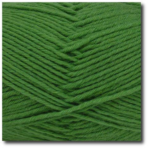 Jednobarevná ponožková příze 8-vrstvá Zelená tráva