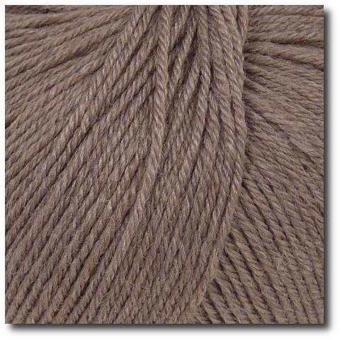 Ponožková příze 4-vrstvá s bambusem Šedohnědá