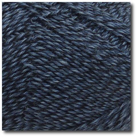 Samovzorovací ponožková příze mouline 4-vrstvá Tmavě modrá