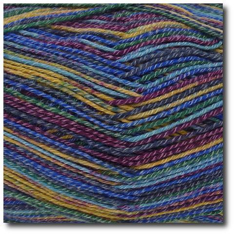 Samovzorovací ponožková příze s bavlnou 4-vrstvá Tajemství