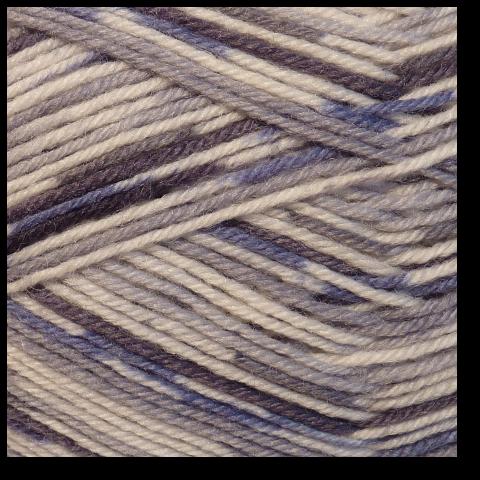 Samovzorovací pletací ponožková příze 4-vrstvá Skála