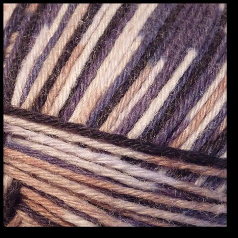 Samovzorovací ponožková příze Země 6-vrstev
