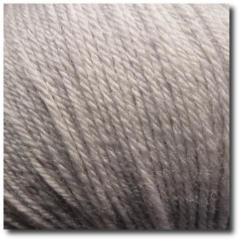 Ponožková příze 4-vrstvá s bambusem Bílý písek
