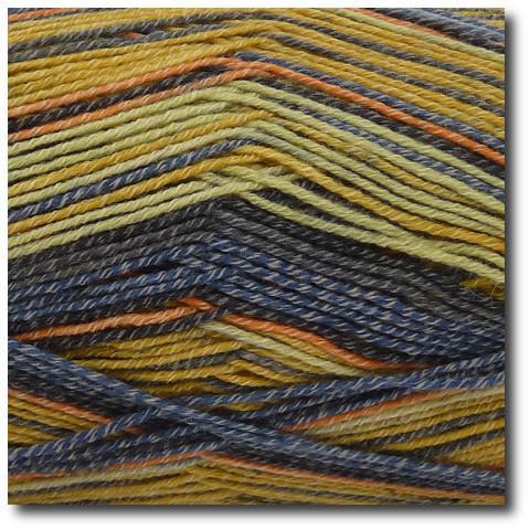 Samovzorovací ponožková příze 4-vrstvá s bavlnou Savana