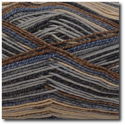 Samovzorovací ponožková příze 4-vrstvá s bavlnou Skotsko