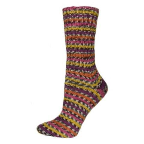 Pletené ponožky Flamingo 38-39