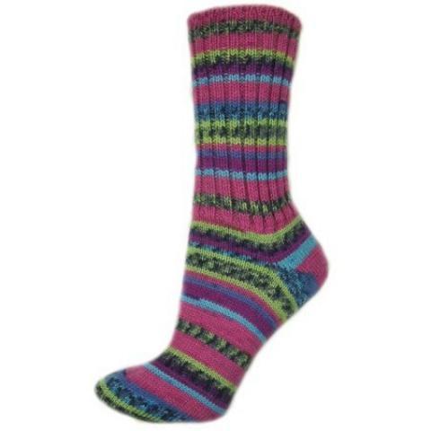 Pletené ponožky Hyacintový květ 38-39