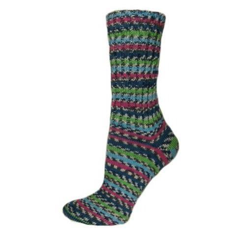 Pletené ponožky Jezerní růže 38-39