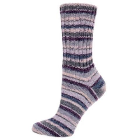 Pletené ponožky Kvetoucí švestka 42-43